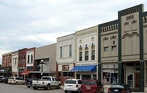 Harlan, Iowa - Downtown Harlan