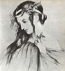 Shakespeare-Darstellerin Harriet Smithson, Berlioz' erste Ehefrau (Quelle: Wikimedia)