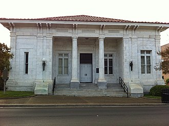 Forrest County, Mississippi - Image: Hattiesburg District Courthouse