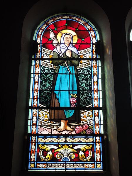 Haudiomont (Meuse) église Saint-Urbain, vitrail