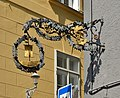 Hauszeichen Hotel Goldenes Schiff, Bad Ischl 01.jpg