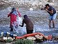Having Fun in the Shapur River - Bishapur - Southwestern Iran - 01 (7425037180) (2).jpg