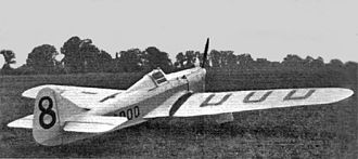 A.E. Clouston - Miles Hawk Speed Six (G-ADOD), September 1936