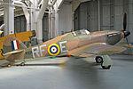 Hawker Hurricane XII 'P3700 - RF-E' (G-HURI) (25029930805).jpg