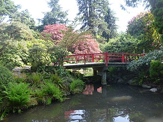 Kubota Garden - Image: Heart Bridge in Kubota Garden