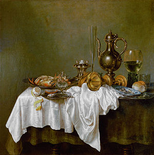 Willem Claesz. Heda - Breakfast, the Hermitage, St. Petersburg