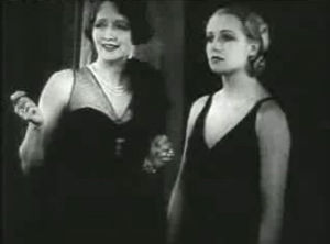 Hedda Hopper - Hedda Hopper and Carole Lombard, The Racketeer (1929)