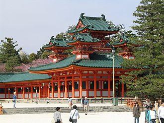 Heian Shrine - Castle in the corner (Sōryūrō)