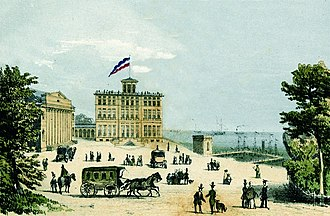 Resort town - Heiligendamm in Germany, established in 1793, the oldest seaside resort in continental Europe