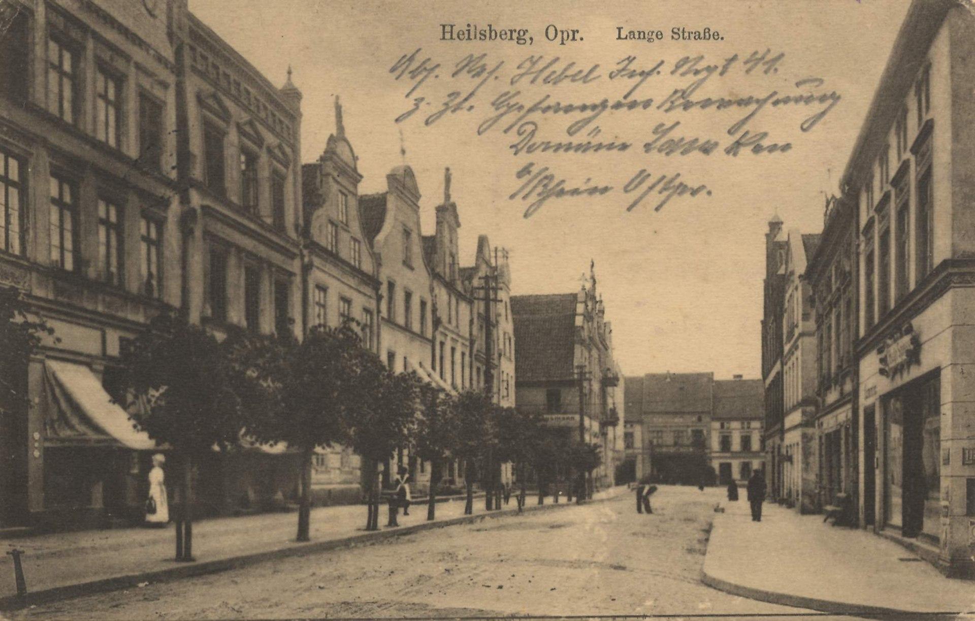 Heilsberg, Ostpreußen - Lange Straße (Zeno Ansichtskarten).jpg