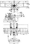 Heinkel HD 24 3-view Le Document aéronautique October,1926.png