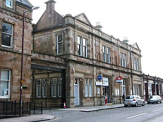 Helensburgh Central railway station - Image: Helensburgh Central station 2012