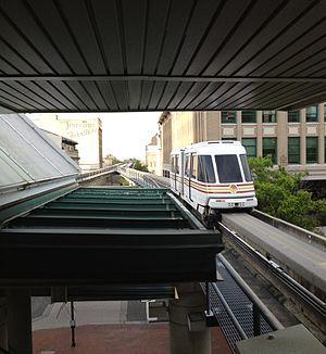 Transportation in Jacksonville, Florida - Jacksonville Skyway train