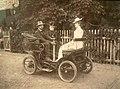 Henryk Brzeski - Pierwszy samochód na ulicach Warszawy.jpg