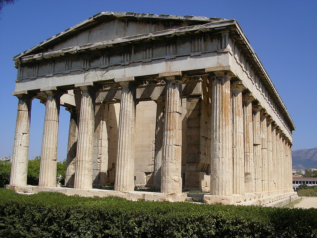 Temple grec wikip dia for Architecture grecque