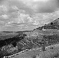 Heuvels en terrassen met olijfgaarden bij Ain Karem (Ein Kerem), Bestanddeelnr 255-0427.jpg
