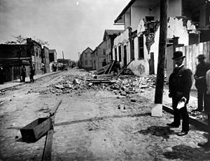 1886 Charleston earthquake - Damage on Tradd Street