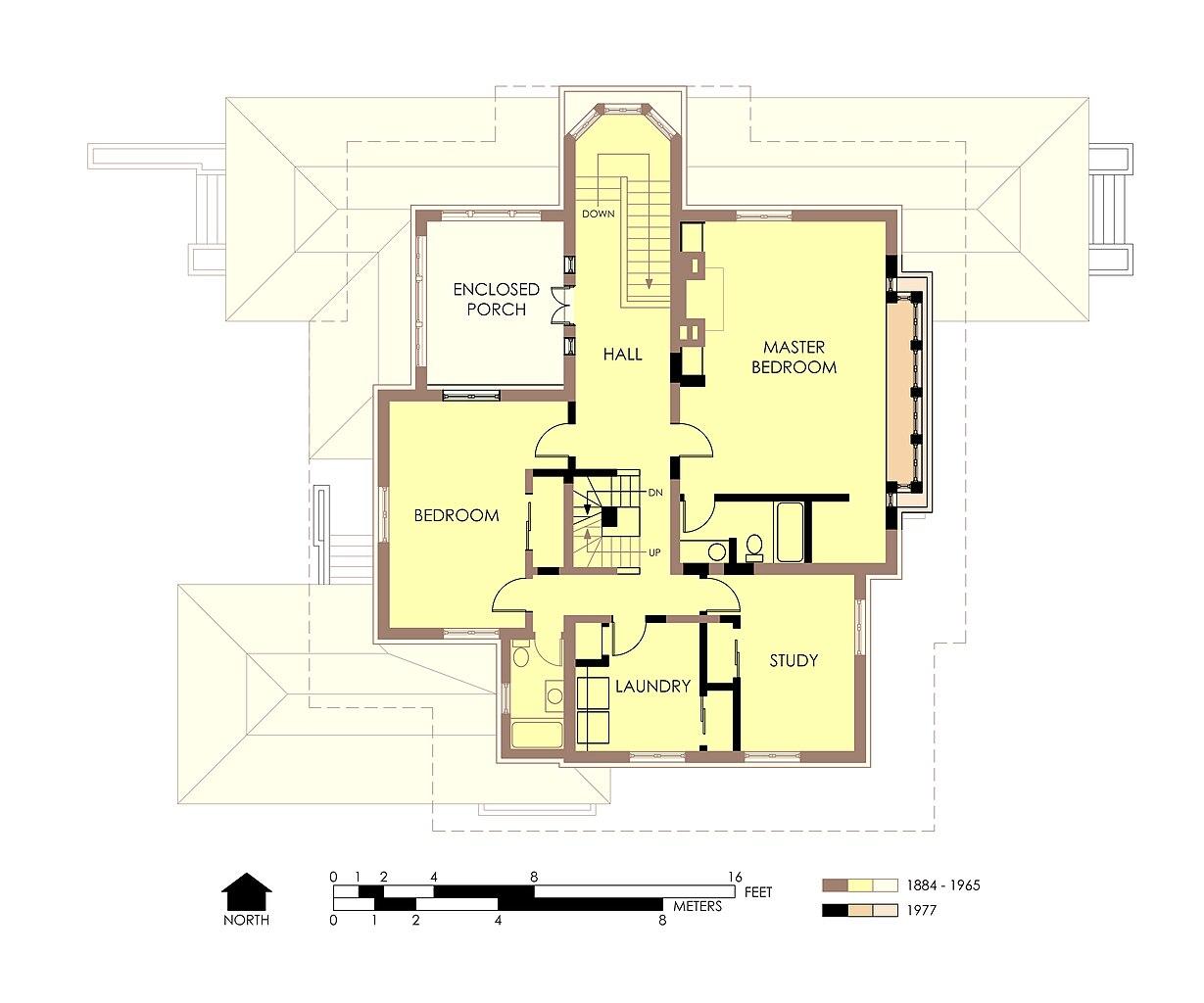 file hills decaro house second floor plan post fire jpg
