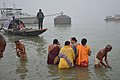 Hindu Devotees Taking Holy Dip In Ganga - Makar Sankranti Observance - Kolkata 2018-01-14 6798.JPG