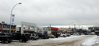 Hinton, Alberta - Downtown Hinton