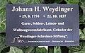 Hinweis Mehringdamm 21 (Kreuz) Johann H Weydinger.jpg