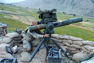 BGM-71 TOW - An M41 tripod-mounted TOW ITAS-FTL with PADS of the U.S. Army in Kunar Province, Afghanistan in May 2009.