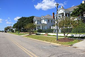 National Register of Historic Places listings in Carteret County, North Carolina - Image: Historical Beaufort NC