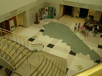 Kentucky Historical Society - Lobby of the Thomas D. Clark Center for Kentucky History