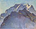 Hodler - Jungfrauenmassiv und Schwarzmönch - 1911.jpeg