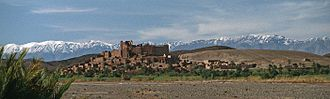 High Atlas - A Kasbah in the Dades valley, High Atlas