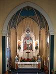Holy Family Catholic Church (Oldenburg, Indiana) - interior, view of sanctuary from the loft.jpg