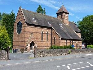 Oakengates - Image: Holy Trinity Church, Oakengates (geograph 1929317)