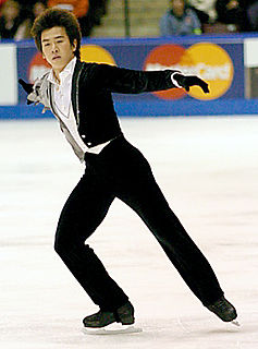 Takeshi Honda Japanese figure skater