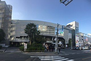 Hon-Kawagoe Station Railway station in Kawagoe, Saitama Prefecture, Japan