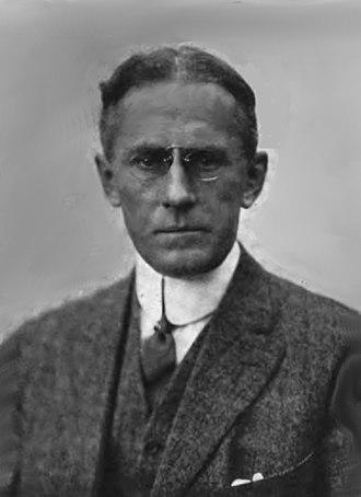Edison Studios - Horace G. Plimpton, an Edison Studios film producer 1909–1915