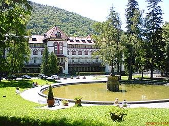 Sinaia - Image: Hotel Caraiman panoramio