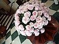 Hotel Plaza Grande, Flowers of Ecuador Roses of Ecuador. interior, Palacio Hidalgo, Quito, Ecuador.jpg