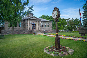 Howell, Michigan - Carnegie District Library