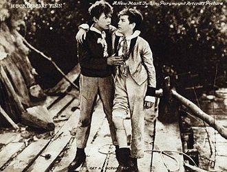Gordon Griffith - As Tom Sawyer in Huckleberry Finn (1920)