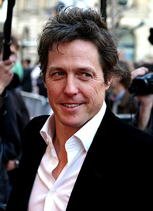 "Hugh Grant's performance as Tennyson Foss was described as ""a rare highlight in the otherwise disappointing production."" Hugh Grant Brussels '08 (cropped).jpg"