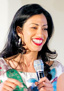 Huma Abedin DNC 2016 Pre Hillary Clinton Speech at Democratic National Convention (July 28, 2016).jpg