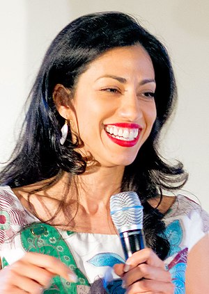 Huma Abedin - Abedin at the 2016 Democratic National Convention