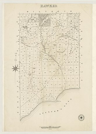 County of Jervois - Hundred of Hawker, 1890