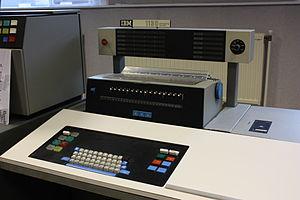 IBM 1130 - IBM 1130 console