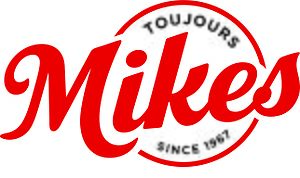 Mikes (restaurant) - Image: IMV1602005 Mikes Logo Outlines EN