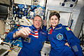 ISS-42 Terry Virts and Samantha Cristoforetti in the Harmony module.jpg