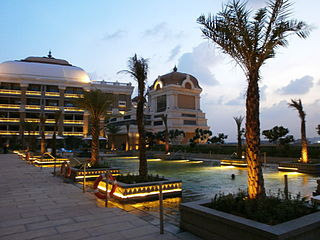 ITC Grand Chola Hotel building in India