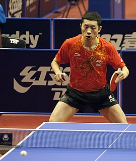 Xu Xin (table tennis) Chinese table tennis player