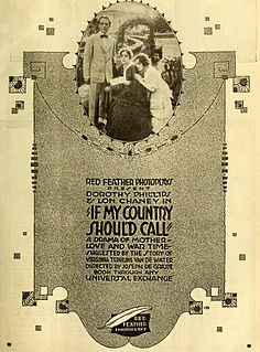 <i>If My Country Should Call</i> 1916 film by Joe De Grasse