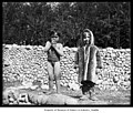 Igorrote child and Inuit child at Alaska-Yukon-Pacific Exposition, Seattle, 1909 (MOHAI 4198).jpg